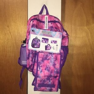 Handbags - 💜NWT 6PC Set Backpack
